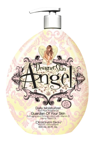 Angel Daily Moisturizer is indeed heaven-sent. Unlike other moisturizers, this Guardian of Your Skin also protects, firms and nourishes your most precious asset... your skin. Potent anti-aging and firming ingredients visibly improve skin's firmness and texture. Hemp Seed Oil provides the ultimate moisturization.