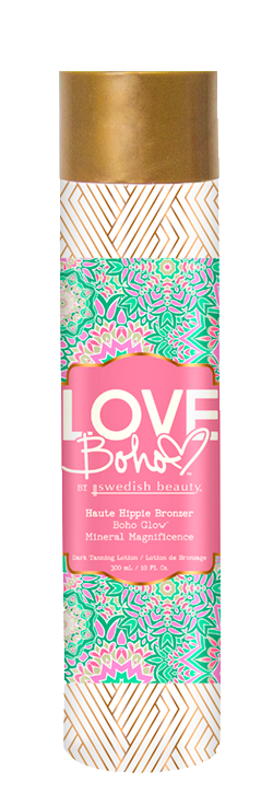 Stay wild, flower child! Radiate positive vibes and discover your place in the sun with sultry color from this heart of a hippie bronzer! Get glowin and get groovin with this triple bronzing blend, while drenching skin with restorative minerals and moisture! It's time for natural, flawless color that's as beauty-full as ever. All you need is love, and a great tan!